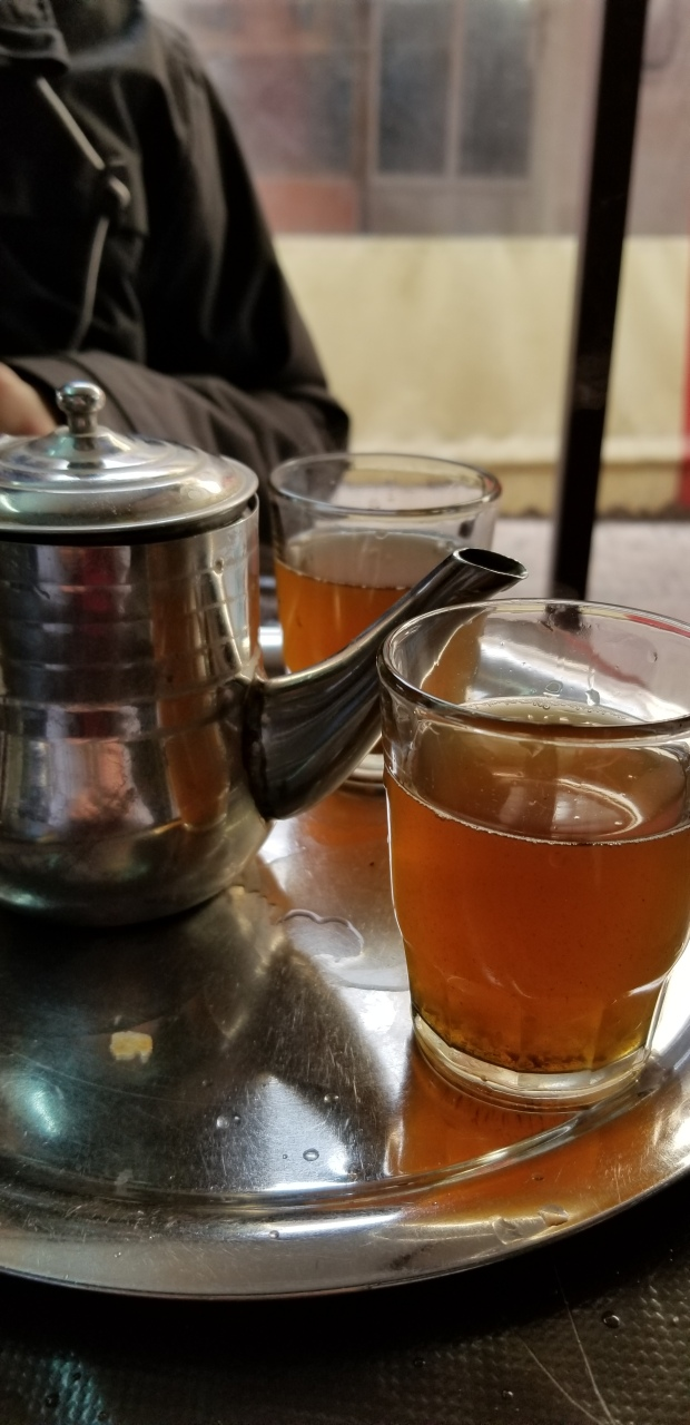 Moroccan Tea Christmas Day